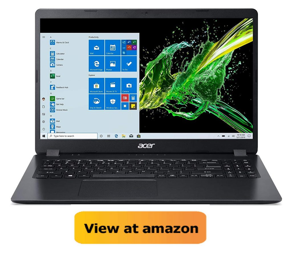 Best i5 laptop in India Acer Aspire3