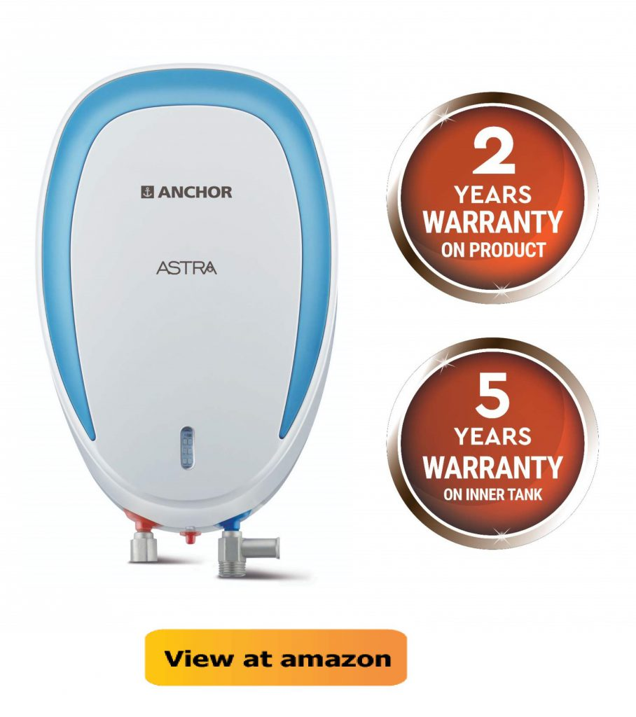 Anchor by Panasonic Astra 3L 3KW Instant Water Heater