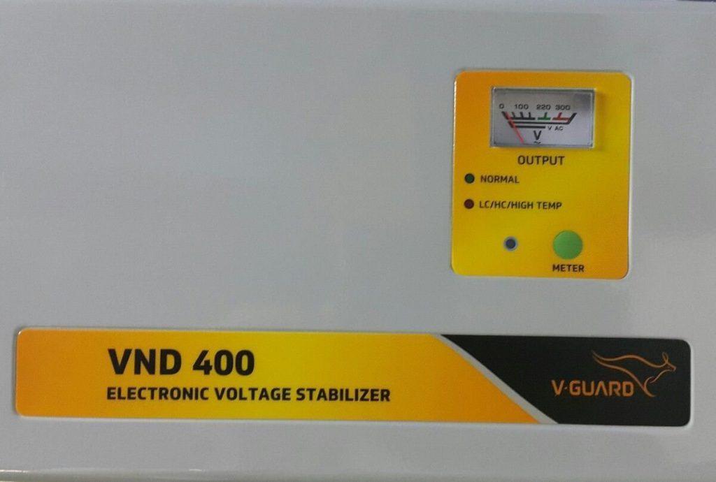 V-Guard VND400 Voltage Stabilizer for 1.5 Ton AC