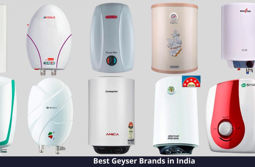 Best Geyser Brand in India